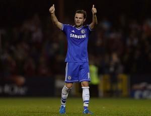 Juan Mata chelsea x Swindon Town (Foto: Getty Images)