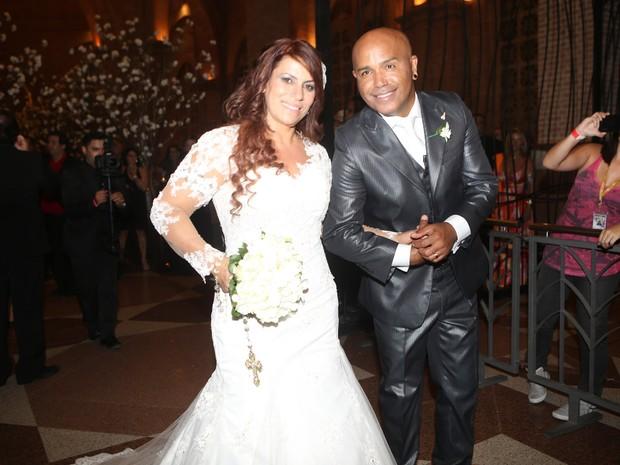 Rick e Geralda se casam em São Paulo (Foto: Iwi Onodera/ EGO)