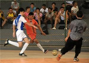 Graça Aranha bateu o Reino Infantil no futsal (Foto: Biaman Prado)