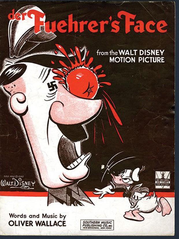 Poster de 'Der Fuehrer's Face', a produção obscura da Disney (Foto: Reprodução)
