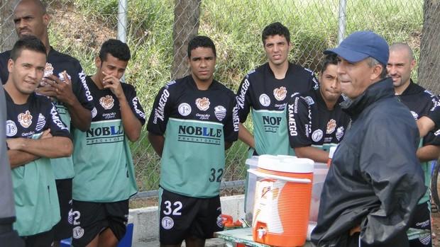 Luis Carlos Martins, técnico do Comercial (Foto: Paulo Bahia / Comercial FC)