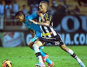 Rafael Marques jogo Botafogo e Santos (Foto: Celso Pupo / Agência Estado)