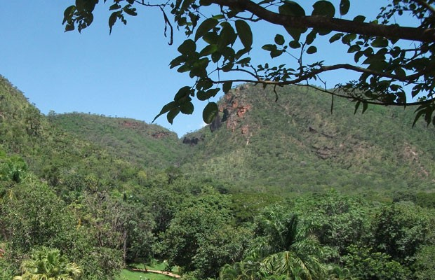 Serra de Caldas (Foto: Elisângela Nascimento/G1)