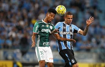 Em duelo quente, Grêmio vence Palmeiras por 2 a 1 no jogo de ida