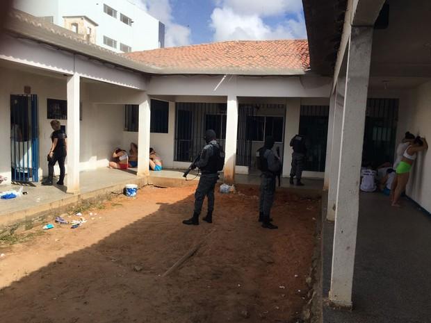 Quatro unidades foram alvo de operações intensificadas em Natal (Foto: Divulgação/Sejuc)
