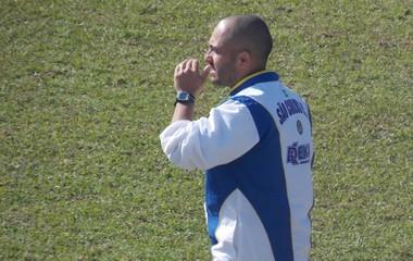 técnico Rafael Guanaes São Carlos (Foto: Rovanir Frias / Assessoria SCFC)