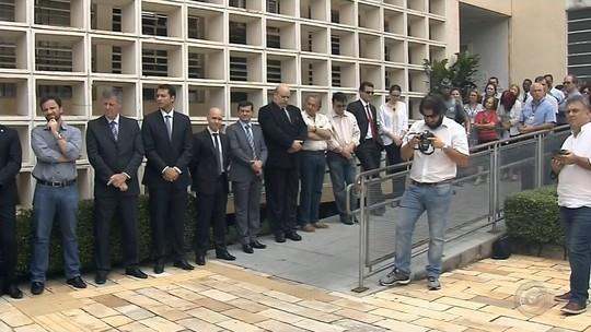 Protesto repudia alterações no pacote anticorrupção aprovado pela Câmara
