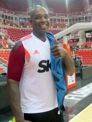 Carracter Flamengo basquete (Foto: Amanda Kestelman)