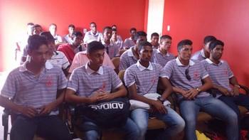 Rio Branco juniores Acre, elenco (Foto: Divulgação/RBFC)