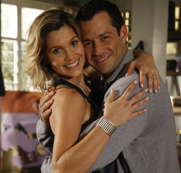 Flávia Alessandra e Malvino Salvador são Dafne e Gabriel na trama de Walcyr Carrasco (Foto: Divulgação/ TV Globo)