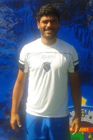Roberto Calmon, novo técnico do Linhares (Foto: Divulgação/Linhares FC)