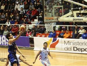 Dedé São José Basquete x Alvarado (Foto: Samuel Velez/ Divulgação Fiba)