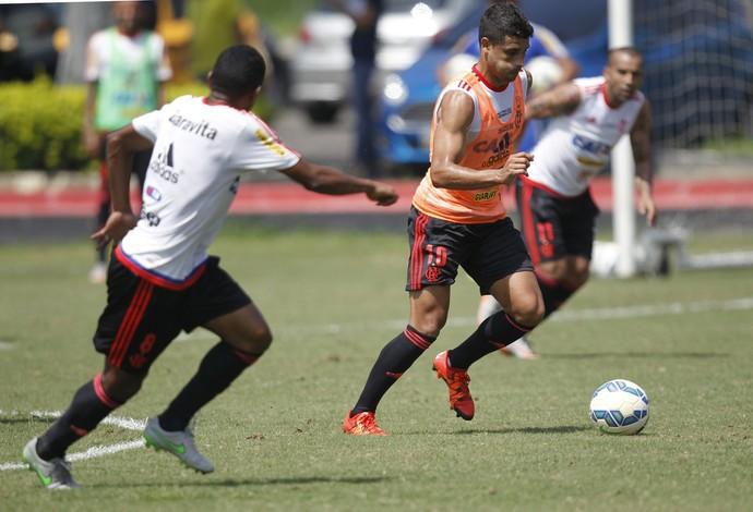 Ederson treino 11/11 (Foto: Divulgação/Flamengo)