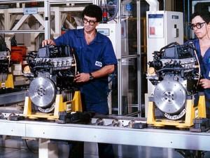 Fábrica da Ford Taubaté (Foto: Divulgação/Ford)