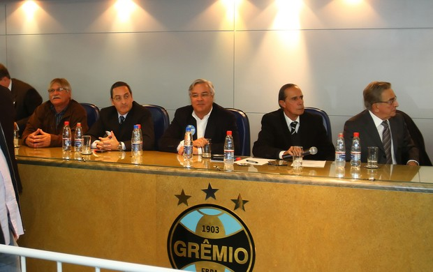 odone koff antonini homero bellini eleição presidente grêmio eleição (Foto: Lucas Uebel/Grêmio FBPA)