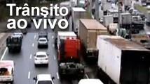 Veja a situação do trânsito nas principais vias (Arte/G1)