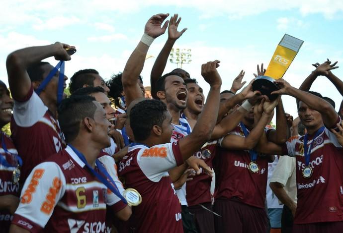 Desportiva conquista a Copa dos Campeões 2014 (Foto: Henrique Montovanelli/Desportiva Ferroviária)