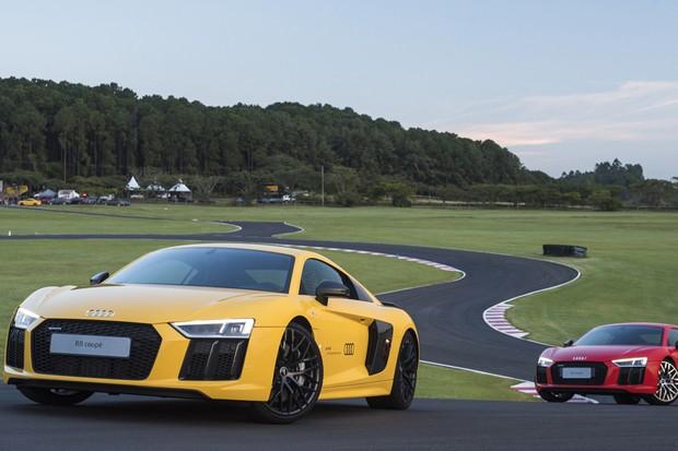 Audi R8 V10 plus (Foto: Bruno Guerreiro / O Globo)