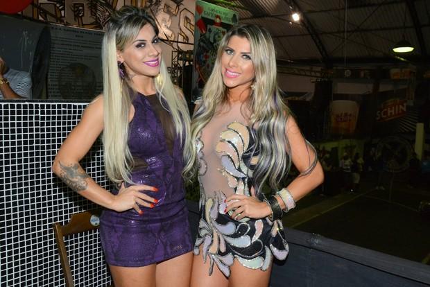 Ex-BBB Vanessa Mesquita e Ana Paula Minerato (Foto: Caio Duran/Divulgação)