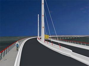 Imagem ilustrativa na nova ponte que será construída (Foto: Divulgação/ Secom)