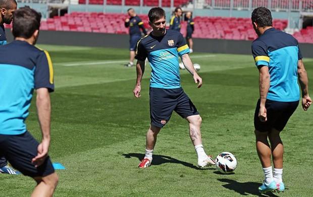 Lionel messi barcelona treino (Foto: Miguel Ruiz / FC Barcelona)
