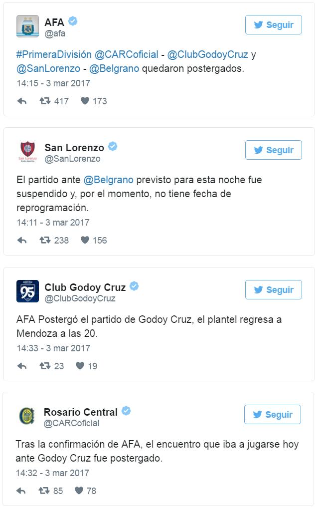 Twitters Futebol Argentino (Foto: Reprodução)