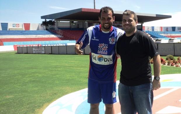 Paulo Almeida e Paulo Rogério (Foto: Arquivo Pessoal)