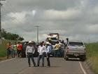 Produtores rurais protestam contra ações do MST, em Marabá