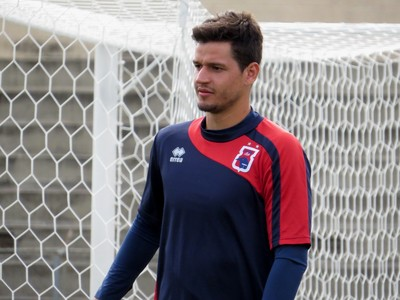 Zagueiro Alisson Paraná Clube (Foto: Fernando Freire)