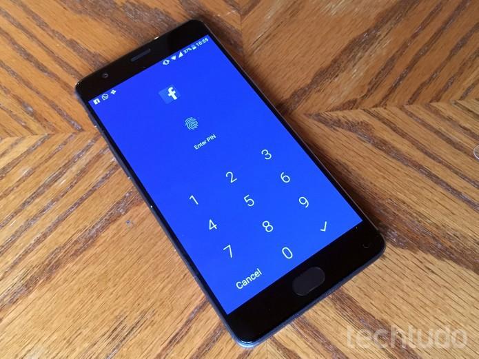 OnePlus 3T traz proteção com senhas ou digitais nativa para apps e jogos  (Foto: Elson de Souza/TechTudo)