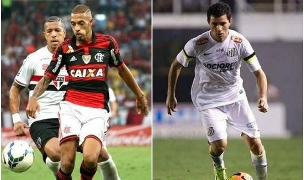 Flamengo e Santos se enfrentan neste sábado, 04 (Foto: Reprodução/Globo Esporte)