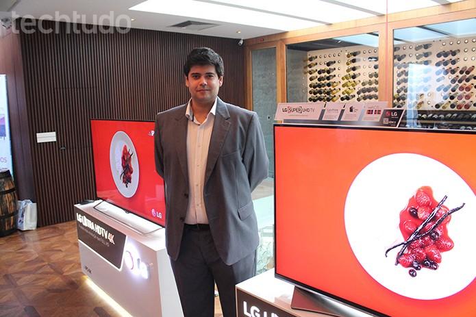 smart tv lg (Foto: Leonardo Ávila/TechTudo)