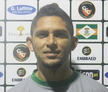 Geovani Pinheiro, meio-campo acreano reforça o Camboriú FC (Foto: Divulgação/Camboriú FC)