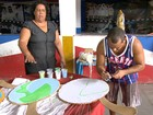 A união da equipe faz a força da Inocentes de Belford Roxo, no Rio