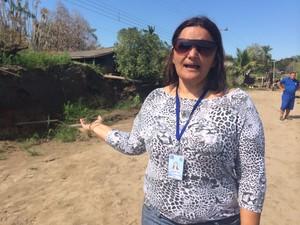 Moradores reclamam de infiltração e falta de água em Porto Velho (Foto: Ana Fabre/G1)