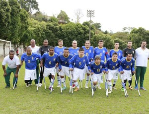 Seleção Brasileira de Amputados (Foto: Divulgação)