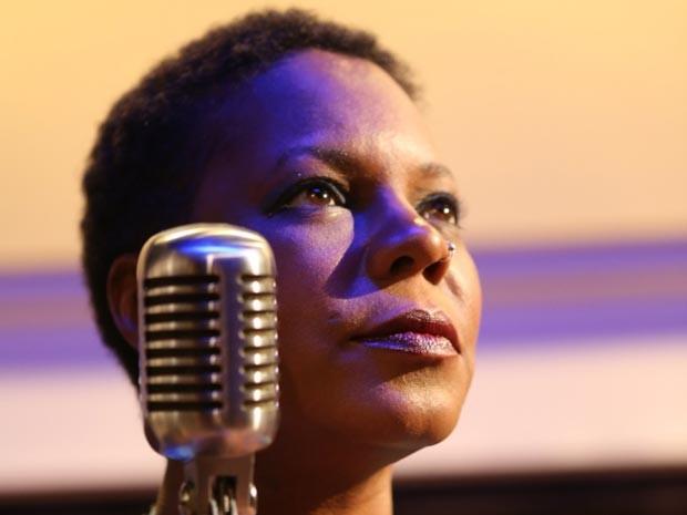 Michaela Harrison canta Nina Simone em Salvador (Foto: Divulgação)