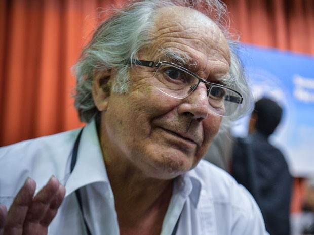 Pérez fala de papa (Foto: AFP /Adalberto Roque)