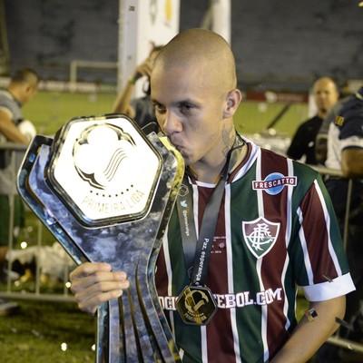 Marcos Junior - Fluminense (Foto: André Durão)