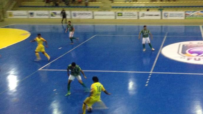 Maranguape x Eusébio Copa TV Verdes Mares de futsal (Foto: Tatiana Alencar/TV Verdes Mares)