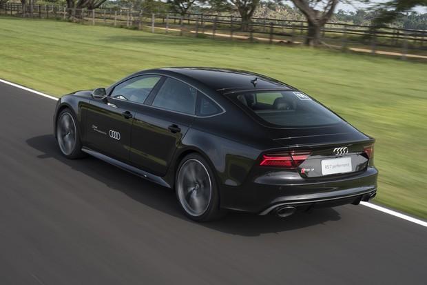 Audi RS7 (Foto: Bruno Guerreiro / O Globo)