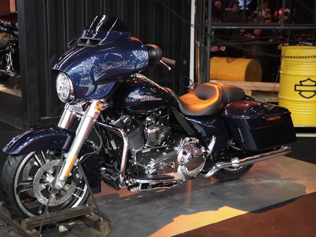 Harley-Davidson Street Glide (Foto: Caio Kenji/G1)