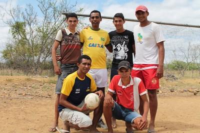 Nonato, Futebol de 5, Orocó (Foto: Emerson Rocha)