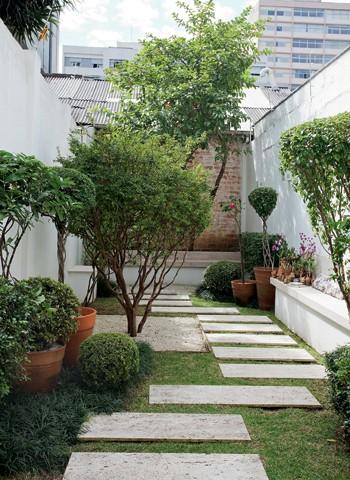 Rvores de estima o casa e jardim jardim for Jardines pequenos simples