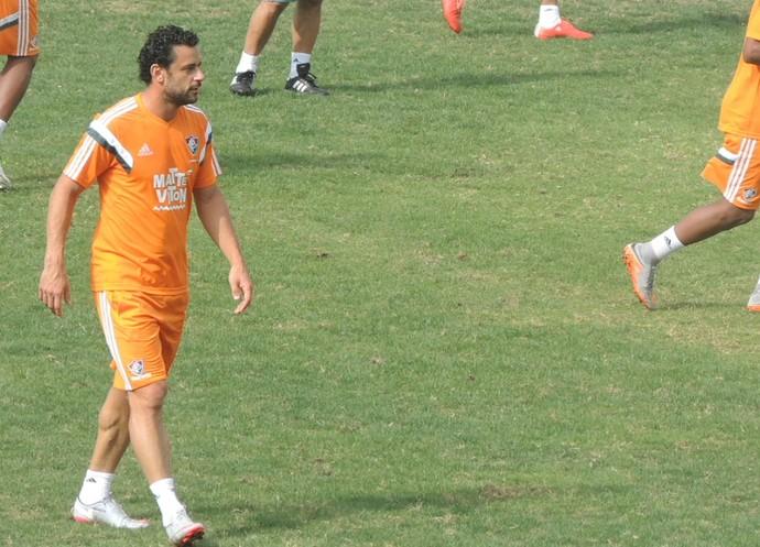 Fred treino Fluminense (Foto: Fred Huber)
