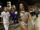 Musas das escolas de samba garantem a folia no desfile das campeãs, em São Paulo