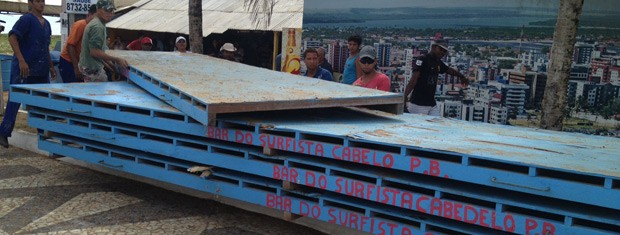 Prefeitura também terá que recolher entulho, segundo a ação (Foto: Walter Paparazzo/G1)