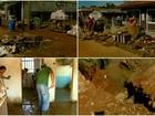Divinolândia e Caconde contabilizam prejuízos em casas após enchentes