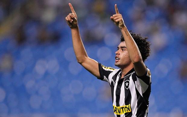 Bruno Mendes gol Botafogo x Vasco (Foto: Wagner Meier / AGIF)