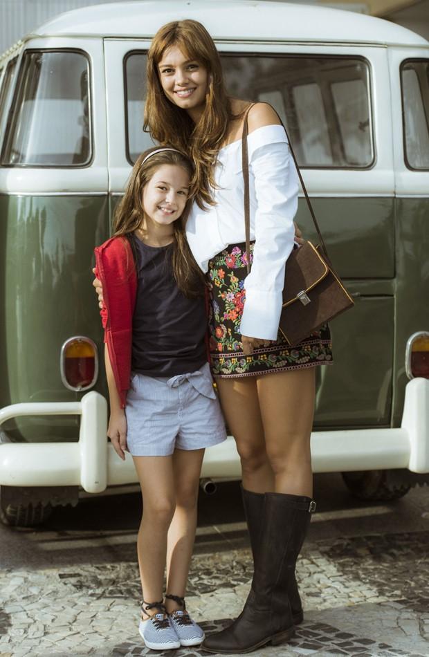 Letícia Braga e Sphie Charlotte (Foto: Divulgação/TV Globo)
